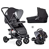 Hauck Malibu 4 Trio Set 3 in 1 Pushchair Set up to...