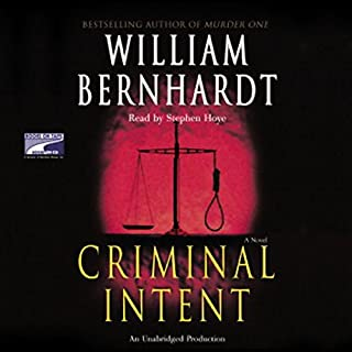 Criminal Intent audiobook cover art
