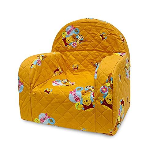Poltroncina Disney Winnie The Pooh Arancio