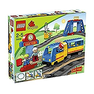 LEGO Duplo 5608 - Eisenbahn Starter Set (B0014R34A6) | Amazon price tracker / tracking, Amazon price history charts, Amazon price watches, Amazon price drop alerts