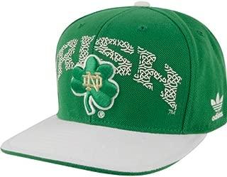 adidas Notre Dame Fighting Irish Celtic Knot Adjustable Snapback Hat/Cap
