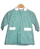 Baby Cuadros Verde Guarderia Infantil Uniforme Escolar para niños y niñas (2-3 años)