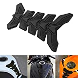 Carbon Fiber MASO 3D Gas Fuel Tank Pad Protector Sticker Decal for Motorcycle