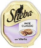 sheba pate classic, vitello - 85 gr