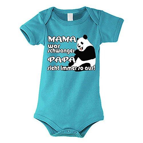 Kinder - Babybody aqua Modell: Mama war schwanger