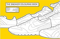 The Sneaker Coloring Book Paperback by Henrik Klingel