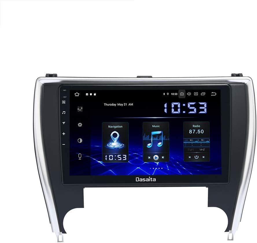 Dasaita Android 10.0 Car Stereo for Toyota Camry 2015 2016 2017 Radio with 10.2