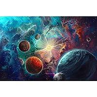 ファンタジーユニバースシリーズ - パズル500/1000/1500/2000/3000/4000大人大人の子供の教育玩具パズルタングラム 0122 (Color : A, Size : 2000 pieces)