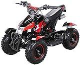 Miniquad Kinder Cobra ATV  rot / schwarz