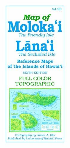 Bier, J:  Reference Maps of the Islands of Hawai'i. Moloka`i
