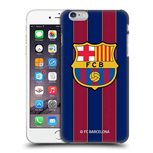 Head Case Designs Oficial FC Barcelona Casa 2020/21 Kit de Cresta Carcasa rígida Compatible con Apple iPhone 6 Plus/iPhone 6s Plus