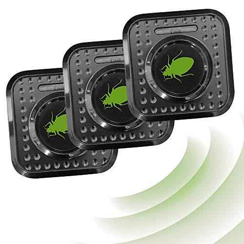 ISOTRONIC Insektenschutz Milbenschutz Milbenabwehr 230V Ultraschall Milbencontroller Insektenabwehr gegen Bettwanzen und Milben (3)