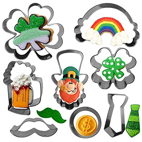 St. Patrick's Day Cookie Cutter Set-