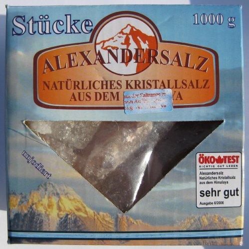 Alexandersalz 1000g, brocken