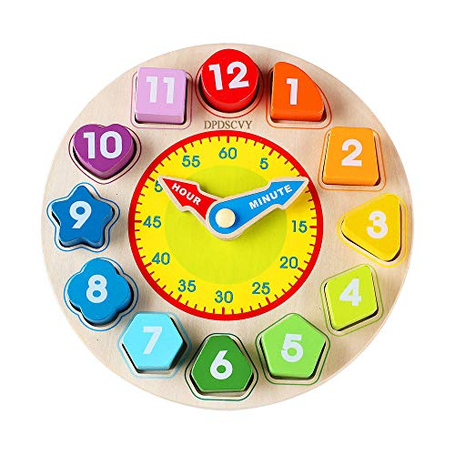 PDPSCVY Multifunctional Clock Learning for Kids
