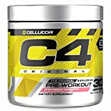 C4 Original Pre Workout Powder Strawberry Margarita | Sugar Free Preworkout Energy Supplement for Men & Women | 150mg Caffeine + Beta Alanine + Creatine | 30 Servings