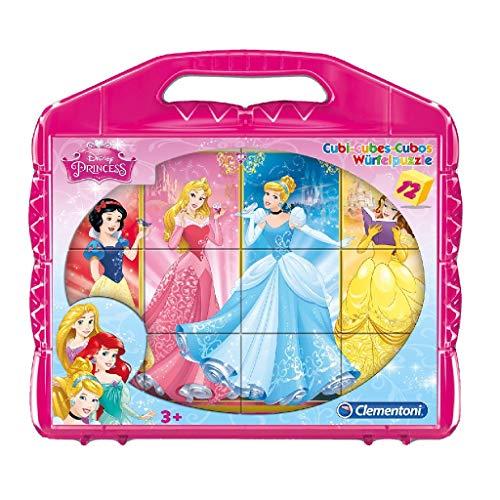 Clementoni 41181 Princess Blokpuzzel, 12 Delige