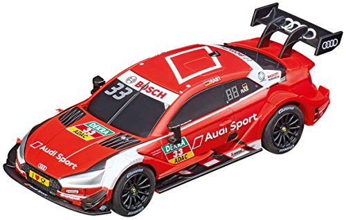 Carrera 64132 Audi RS 5 DTM R. Rast #33 GO!!! Analog Slot Car Racing Vehicle 1:43 Scale