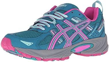 ASICS Women's Gel-Venture 5 Trail Runner, Ocean Depth/Pink Glow/Aruba Blue, 8.5 M US