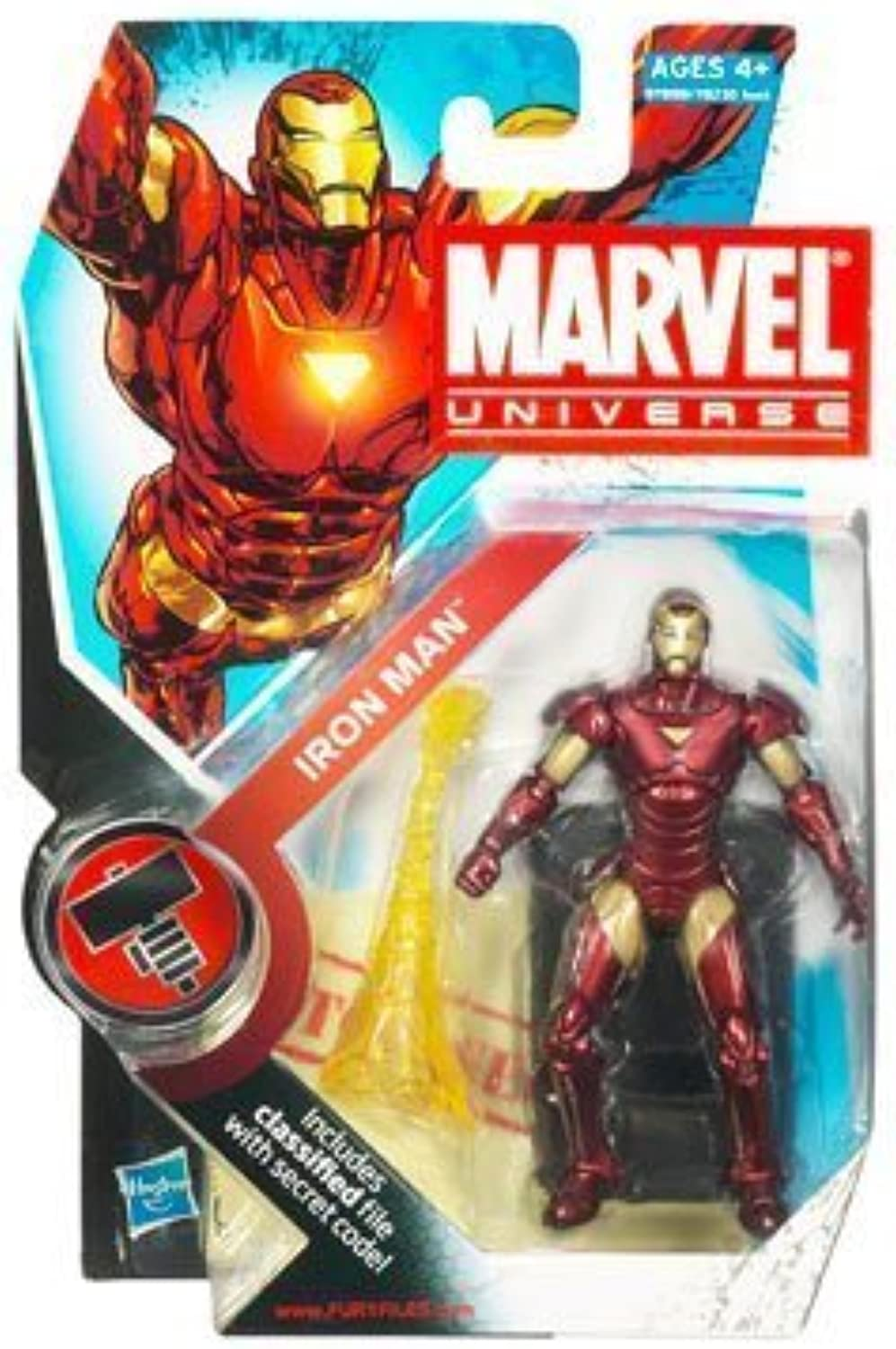 Marvel Universe 3 3 4 Inch Series 2 Action Figure Iron Man by Disney