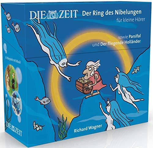 Der Ring des Nibelungen, Parsifal, Der fliegende Holländer, Hörspiel mit Opernmusik für kleine Hörer (Die ZEIT-Edition 6 CD-Box): 6 Hörspiele mit ... für kleine Hörer, Die ZEIT-Edition)