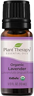 Plant Therapy Organic Lavender Essential Oil 100% Pure, USDA Certified Organic, Undiluted, Natural Aromatherapy, Therapeut...