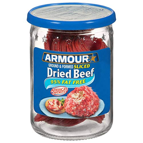Armour Star Sliced Dried Beef, Jarred Meat, 2.25 OZ