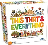 This That & Everything is a fast-paced, easy to learn, crowd pleasing party game. In this rapid-fire game, players race to describe a wide variety of famous people, things, and places for their teammates to guess - in less than 30 seconds! CONTENTS: ...