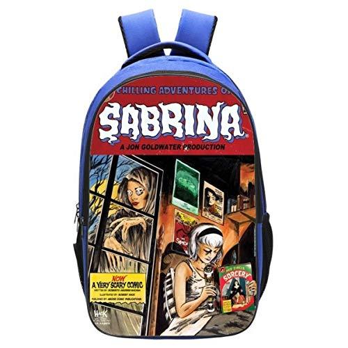 Mochila Riverdale, mochila infantil de Riverdale, mochila creativa, con impresión de novedad, cómoda y duradera, River7 (Negro) - SD351S-UJ