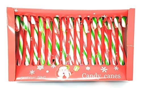 15 Satz Weihnachtsbaum-Pfefferminz-Süßigkeit-Stock-Dekoration-Bonbons-Kasten-Geschenk-großes Weihnachten