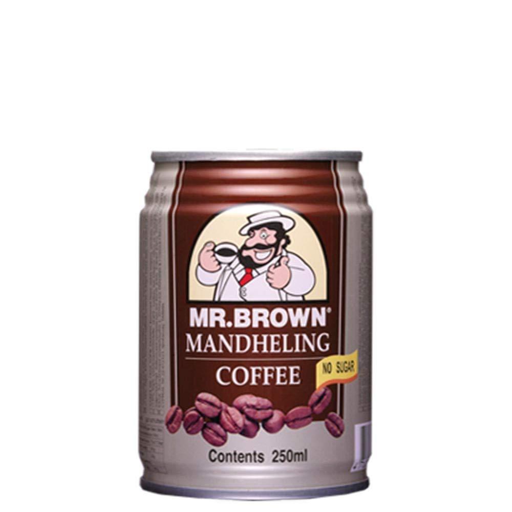 Mr. Brown Coffee Drink (Mandheling Blend ) - 8.12 Fl Oz   Case of 24