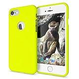 NALIA Cover Neon compatibile con iPhone 7, Custodia Protezione Ultra-Slim Neon Case Protettiva...