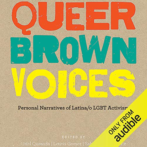 Queer Brown Voices audiobook cover art