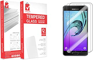 shAyzee Pack Of 2 Supershieldz Tempered Glass Screen Protector For Samsung Galaxy A5 2016 Clear