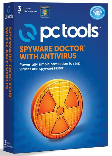 PC Tools Spyware Dr with Antivirus 2012 - 1 User [import anglais]