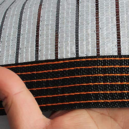 YXX-Filet d'ombrage Tissu d'ombrage 75% réfléchissant robuste - Filet d'ombre de rayons UV en papier d'aluminium pour fleurs de jardin/serre/pelouse de patio (Size : 4m×10m)
