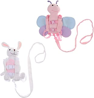 Dolity 2pcs Cute Animal Baby Child Toddler Walking Safety Harness Backpack
