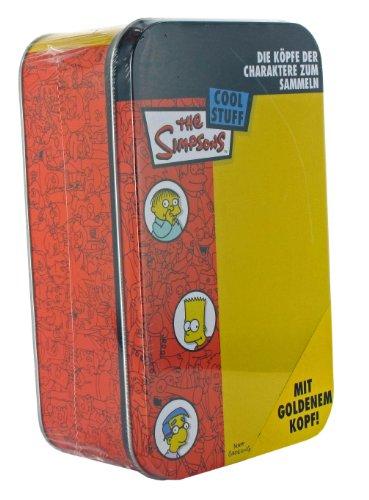 Universal Cards Dracco dr03450 Simpsons Têtes Tin
