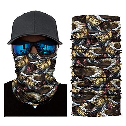 chenxu Hochwertige Digitaldruck Magic Turban Sonnenschutz Outdoor Lätzchen Maske