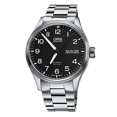 Oris Oris–Reloj automático para hombre Big Crown propilot DayDate correa de acero