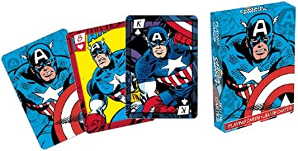 Aquarius Marvel Captain America Series 2 Comic Playing Cards