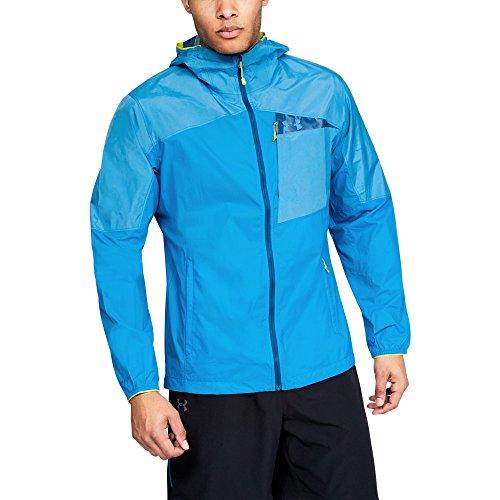 Under Armour Outerwear Herren Scrambler Hybrid Jacke UA Oberbekleidung, Damen, Cruise Blue (899) / Cruise Blue, Small