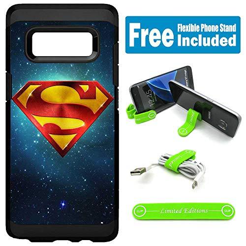 for Samsung [Galaxy S10e] [Galaxy S10 Lite] Hybrid Rugged Hard Cover Case - Superman Universe