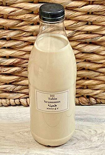 1 kg Tahini Tahin reine Sesampaste Sesammus Tahina Sesam Dip Tahine Paste GMO frei Premium Qualität