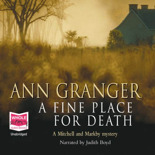 A Fine Place for Death audiobook cover art
