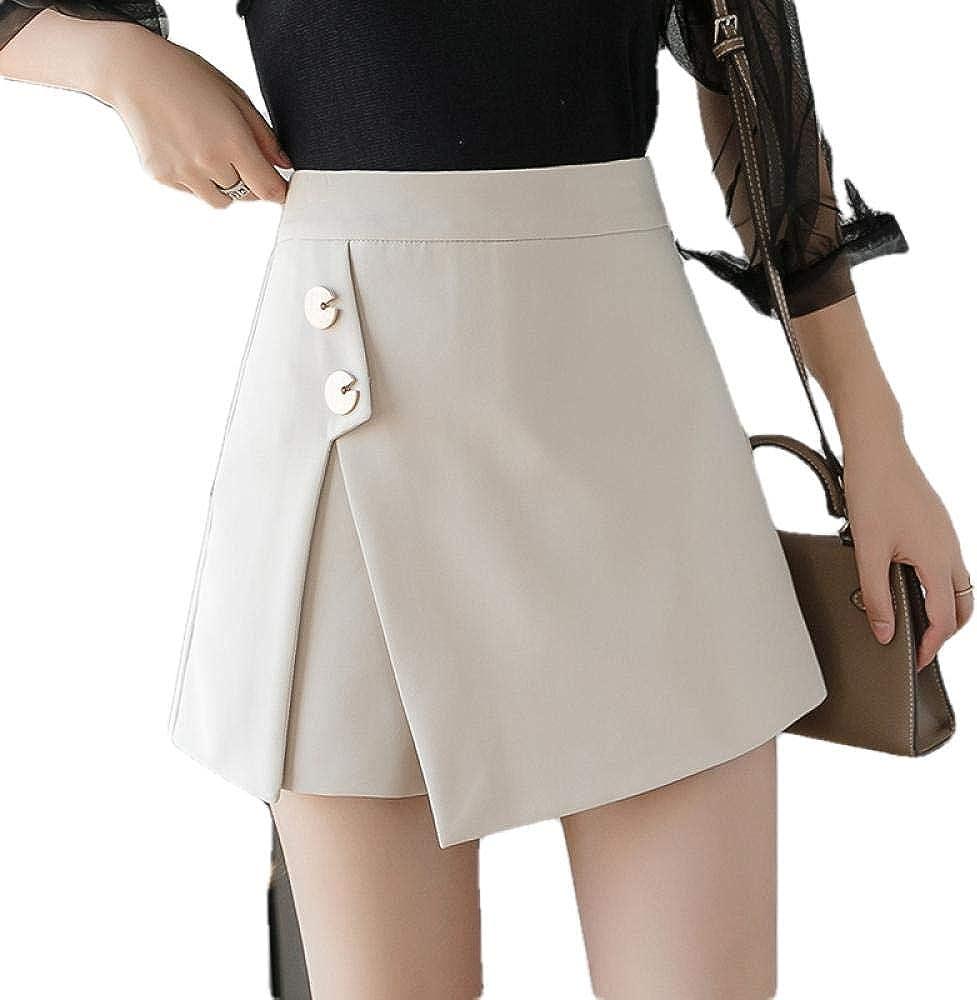 Short Skirt Set Credence Fashion Tulsa Mall Shorts Zipp Skirts Elegant Buttons Women