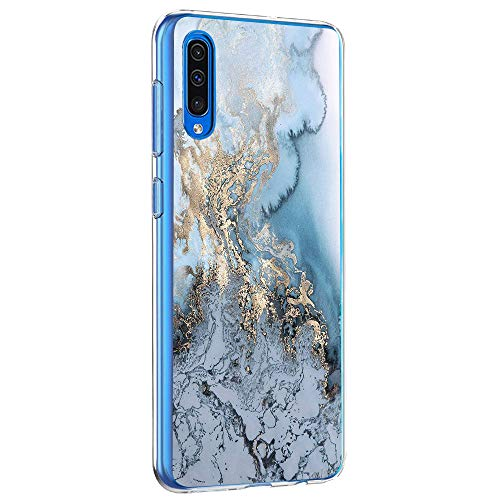 akiter Handyhülle kompatibel mit Samsung Galaxy A50 Hülle,Silikon Gel Clear Transparent Handyhülle Softshell Flexible TPU Schutzhülle Kratzfest Bumper Case Cover (Galaxy A50, 12)