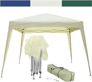 Miadomodo – Pabellón plegable en color beis con accesorios incluidos
