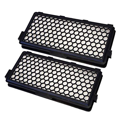 ACAMPTAR 2Pcs Stofzuiger Accessoires onderdelen stof Hepa Filter Voor MIELE SF-AAC 50 S4000 S5000 S6000 S8000 Series SR047