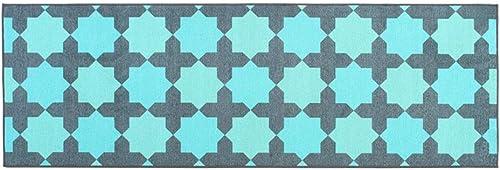 online barato ZJ Alfombra de Dormitorio nórdico Dormitorio Rectangular Rectangular Rectangular tapete de sofá Lavable Calidad Ambiental Color Doble Opcional (Color   azul, Talla   19.7x47.2in)  Descuento del 70% barato